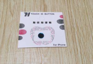 iPhoneSE2 ホームボタン保護シール黒青