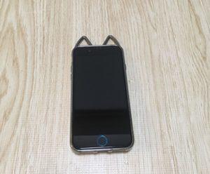 iPhoneSE2 ねこみみ 猫耳